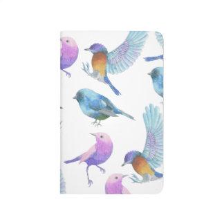 Bird Lover Grid Pocket Journal