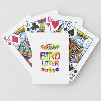 Bird Lover Poker Deck