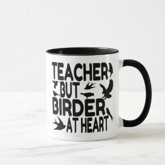 Bird Lover Teacher Mug