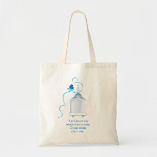 Bird Lover Tote Bag