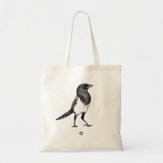 Bird - Magpie - Elster Bag