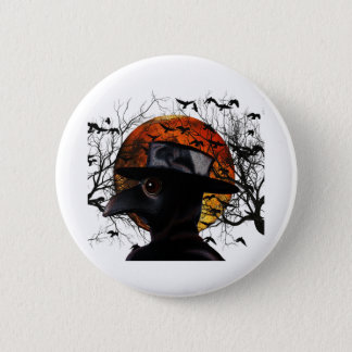 Bird-man 2 Inch Round Button