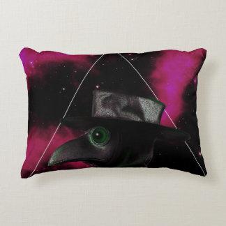 Bird-man Decorative Pillow