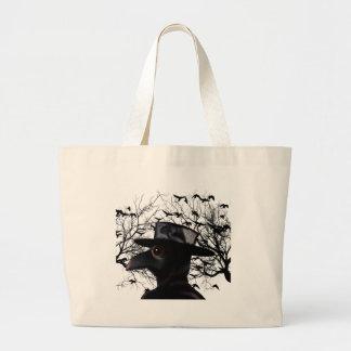 Bird-man Large Tote Bag