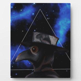 Bird-man Plaque