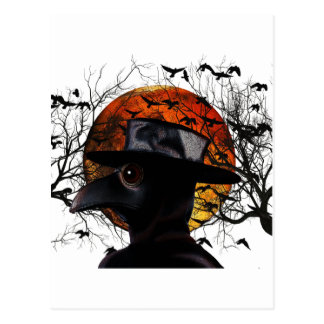 Bird-man Postcard