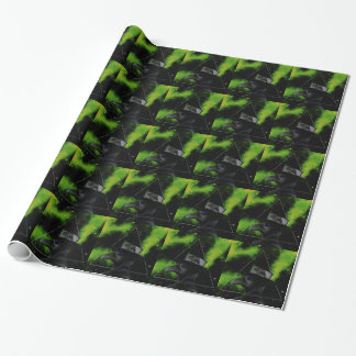 Bird-man Wrapping Paper