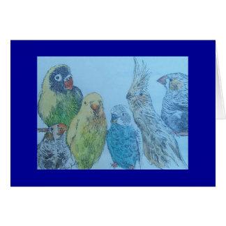 bird medley card