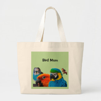 Bird Mom Jumbo Tote Bag