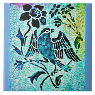 Bird Mosaic Tile
