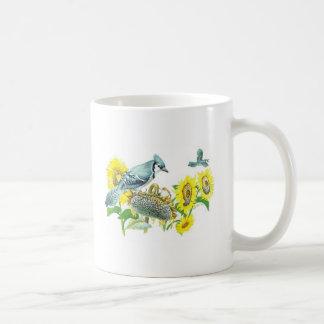 Bird Mug - Blue Jay