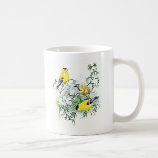 Bird Mug - Goldfinch