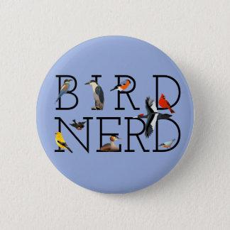 Bird Nerd 2 Inch Round Button