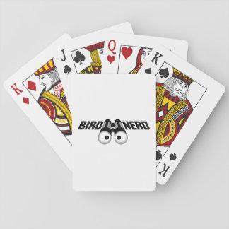 Bird Nerd Birdwatching Funny Gift Playing Cards