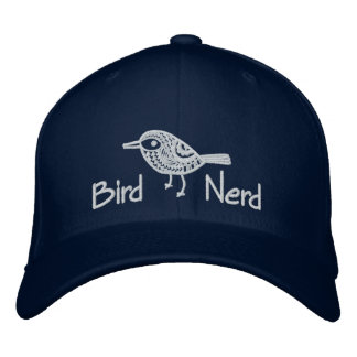 Bird Nerd [Embroidered] Embroidered Hat