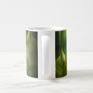 Bird nest classic white coffee mug