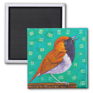 Bird Notes Magnet