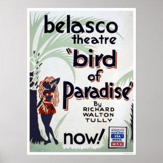 Bird OF Paradise 1939 WPA Poster