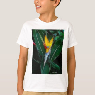 Bird of Paradise 8 Crayon T-Shirt