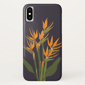 Bird of Paradise Apple iPhone x Case