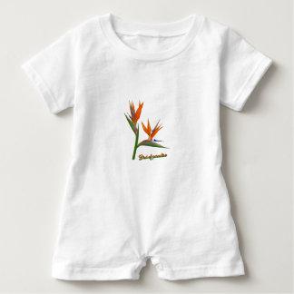Bird Of Paradise Baby Romper