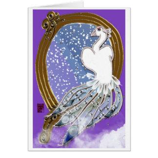 bird of paradise card