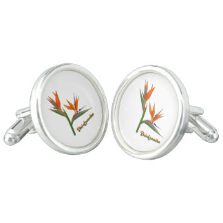 Bird Of Paradise Cufflinks