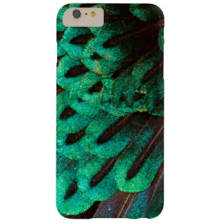 Bird of Paradise feather close-up Barely There iPhone 6 Plus Case