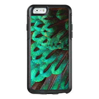 Bird of Paradise feather close-up OtterBox iPhone 6/6s Case