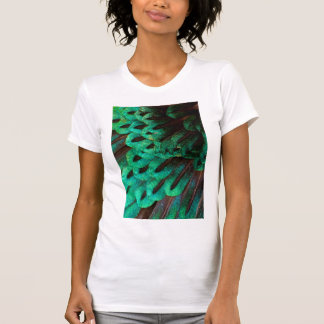 Bird of Paradise feather close-up T-Shirt
