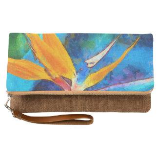 bird of paradise flower clutch