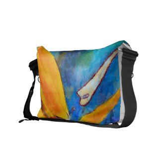 bird of paradise flower courier bag