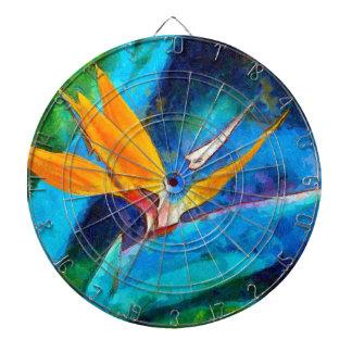bird of paradise flower dartboard