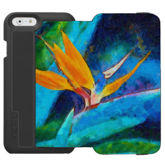 bird of paradise flower incipio watson™ iPhone 6 wallet case
