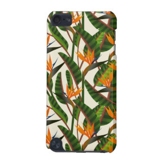 Bird Of Paradise Flower Pattern iPod Touch 5G Case