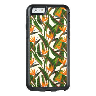 Bird Of Paradise Flower Pattern OtterBox iPhone 6/6s Case