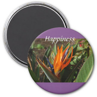 Bird of paradise happiness magnet