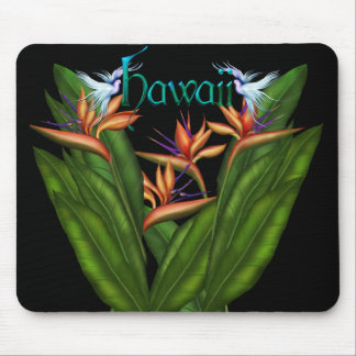 Bird of Paradise Hawaii Mousepad