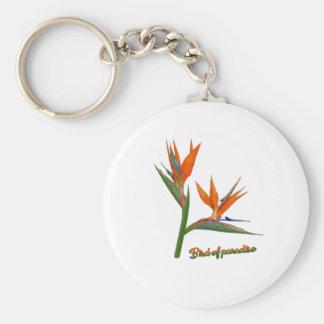 Bird Of Paradise Keychain