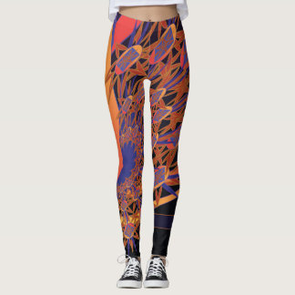 Bird of Paradise Leggings Part Two