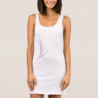 Bird of Paradise (light, front/back) Sleeveless Dress