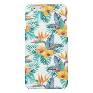 Bird Of Paradise & Orchid Pattern