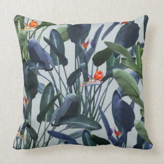 Bird of Paradise Pattern V2 Pillow 20x20