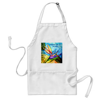 Bird-of-Paradise -  Sanibel, Island Florida Standard Apron