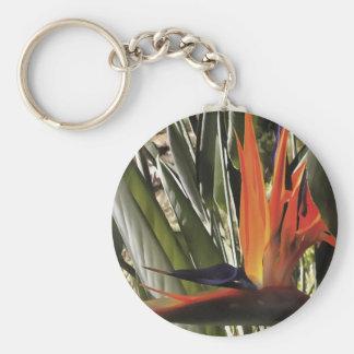 Bird of Paradise (Strelitzia) Keychain