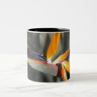 Bird of Paradise Two-Tone Coffee Mug