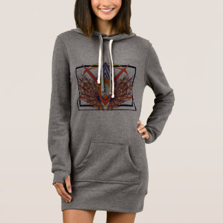 Bird of Paradise Women's Hoodie Dress