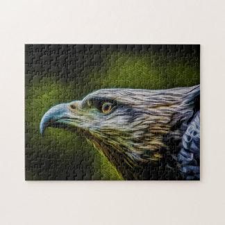 Bird of Prey 01 Digital art - Photo Puzzle