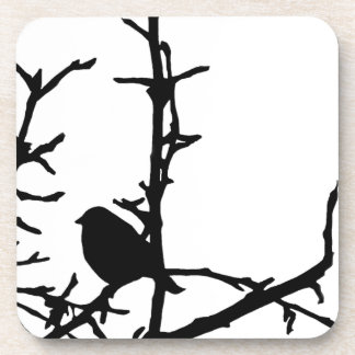 Bird on a Branch Coasters
