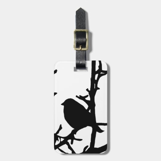Bird on a Branch Luggage Tag